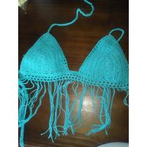 Top En Hilo Tejido A Crochet