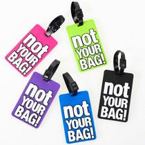 Identificador De Equipaje Not Your Bag! Regalos Morph
