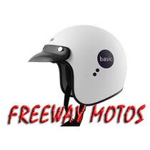 Casco Abierto Vertigo Basic En Freeway Motos !!