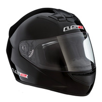 Casco Integral Mono Gloss Black Ff350 Ls2 (negro Brillante)