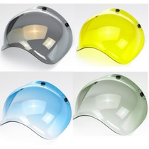 Burbujas Visor Bilt Well Universal Casco Cafe Race Bell 500