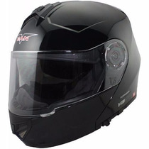 Casco Rebatible V Can V270 Doble Visor 2016 En Freeway Motos
