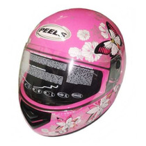 Casco Peels Spike Butterfly Rosa Mujer En Freeway Motos !