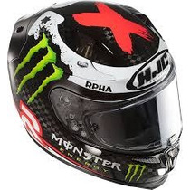 Casco Hjc Rpha 10 Plus Carbono Replica Jorge Lorenzo