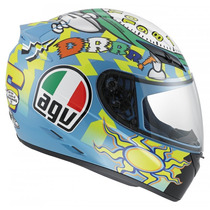 Casco Agv K3 Wake Up Moto Gp Valentino Rossi
