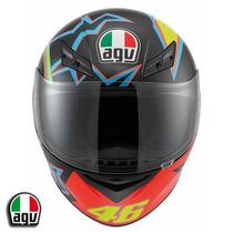 Casco Agv K3 Modelo 46 Moto Gp Valentino Rossi