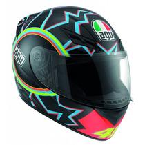 Casco Agv K3 Rossi 46 Moto Gp Valentino Rossi