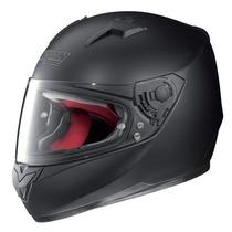 Casco Nolan Italiano N64 Smart Negro Mate Velocidad Moto Sur