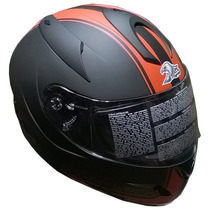 Casco Integral Zeus Gj 806 Ii43 Matt Doble Visor Devotobikes