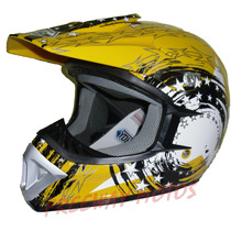 Casco Yohe Cross Adultos Enduro Atv Colores En Freeway Motos