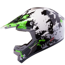 Casco Cross Ls2 Mx433 Blast Desperado Quake Moto Delta