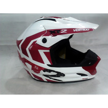 Casco Cross Vertigo Xt2 100% Desmontable
