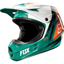 Casco Fox V1 Moto Cross Enduro Atv Solo En Freeway Motos !!