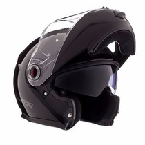 Casco Modular Ls2 Ff386 Ride Gloss Black Talle M Devotobikes