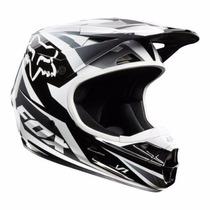 Casco Fox V1 Motocross Enduro Atv Troy Shoei Just1 Riderpro