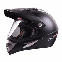 Casco Ls2 Cross Con Visor Visera Mx 433 Single Mono Suzuki