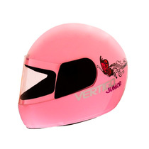 Casco Niño Niña Rosa Vertigo Junior Kids Regalo Ruta 3 Motos