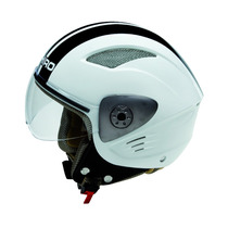 Casco Shiro Abierto Bicolor White Sh90 En Devotobikes