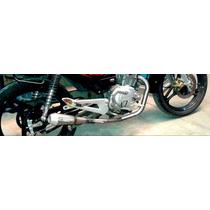 Escape Yamaha Ybr 125 Competicion 1/4 Milla Bennasar