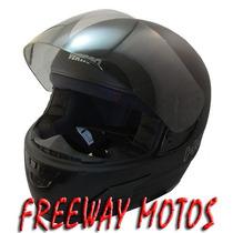 Casco Integral Vertigo Hoken Visor Tonalizado Freeway Motos