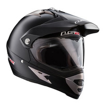 Casco Cross Ls2 Mx 433 Con Visor Negro Mate