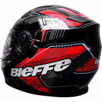 Casco Integral Bieffe Ff952 Doble Visor Motos Miguel