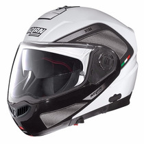 Casco Nolan N104 Evo Tech Rebatible Blanco Urquiza Motos