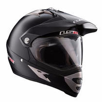 Casco Ls2 Mx433 Cross Con Visor Single Mono