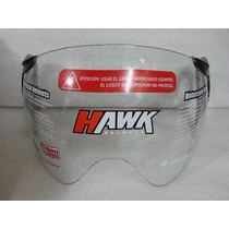 Visor / Visera Casco Hawk Rs9 Abierto Fume Cristal! Wagner