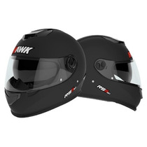 Casco Integral Hawk Halcon Rs11 Doble Visor En Freeway Motos