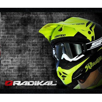 Casco Cross Radikal Vertigo Original Enduro - Sti Motos