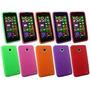 Combo Funda Nokia Lumia 635 Silicona Tpu + Film De Regalo