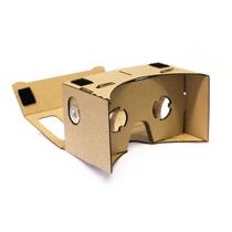 Google Cardboard R. V. En Tu Smartphone Con Faja De Sujeción
