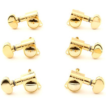 Grover 406g Mini Locking Rotomatic Tuners - 3+3 - Gold