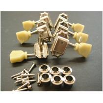 Clavija 3+3 Vintage Electrica Retro Para Electrica 3 Por Lad