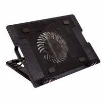 Cooler Base Notebook Varias Posiciones Kolke Kav-119 Negra