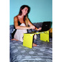 Mesa Notebook,portatil,plegable,soporte Netbook,base De Cama