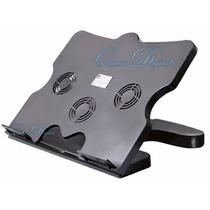 Base Cooler Para Notebook 3 Ventiladores Con Puertos Usb