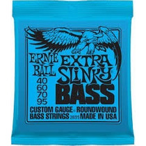 Cuerdas Para Bajo Ernie Ball 2835 040-95 Made In Usa