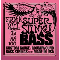 Cuerdas Para Bajo Ernie Ball 2834 045-100 Made In Usa
