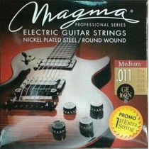 Cuerdas De Guitarra Eléctrica Ge-140 Magma 010 - 046 Nickel