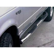 Estribos Cromados Ford Ranger, Chevrolet S-10 Colocados!!