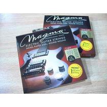 Magma Pack X 6 Encordado Guitarra Electrica 8 9 10 11 12 13