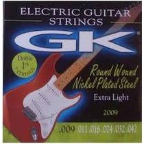 Cuerdas Encordado Guitarra Electrica Gk 0.09 En San Fernando