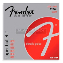 Encordado Fender 3250l Super Bullets .009