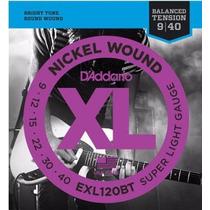 Encordado Cuerdas Daddario Guitarra Eléctrica Exl120bt