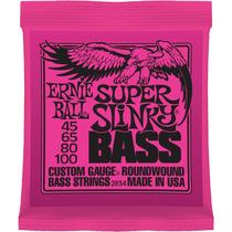Encordado Cuerdas Bajo Ernie Ball 2834 Super Slinky 45-100