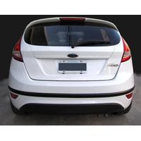 Ford Fiesta Kinetic 5p Protector De Paragolpes Trasero Negro