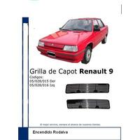 Grilla De Capot Renault 9