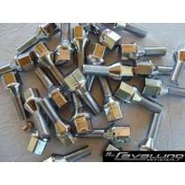 Set De 20 Tuercas O Bulones Cromados P/ Llantas Aleacion